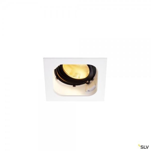 SLV 1001830 Renisto, Deckeneinbauleuchte, weiß, dimmbar Triac C, LED, 29W, 3000K, 2500lm