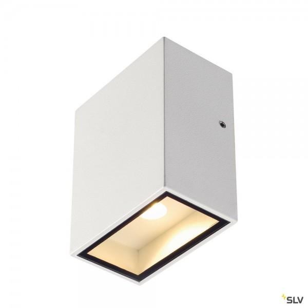 SLV 232431 Quad 1 XL, Wandleuchte, weiß, IP44, LED, 4,5W, 3000K, 290lm