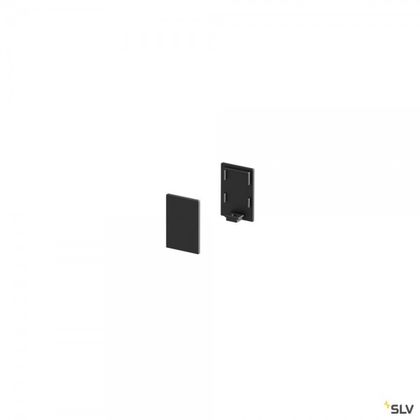 SLV 1000486 Grazia 10, Endkappen, hoch, 2 Stück