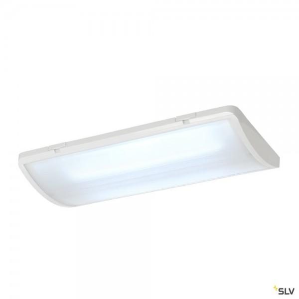 SLV 240004 P-Light, Wand- und Deckenleuchte, weiß, IP65, LED, 4W, 6000K, 100lm, 110°