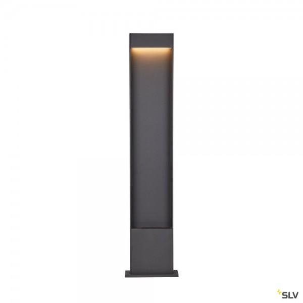 SLV 1002958 Flatt Pole 100, Standleuchte, anthrazit, IP65, LED, 9,7W, 3000K/4000K, 400lm