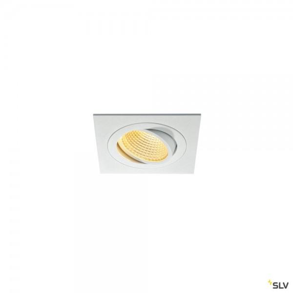 SLV 114241 New Tria 1 Set, Deckeneinbauleuchte, dimmbar Triac C+L, LED, 16W, 2700K, 1030lm