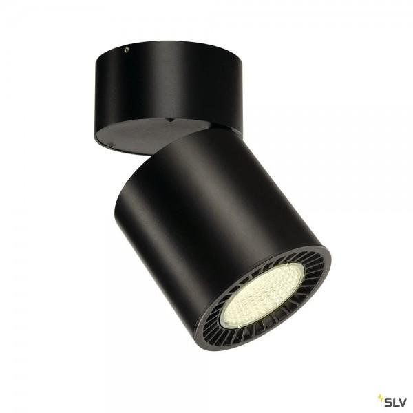 SLV 1003287 Supros Move, Strahler, schwarz, LED, 31W, 4000K, 2700lm