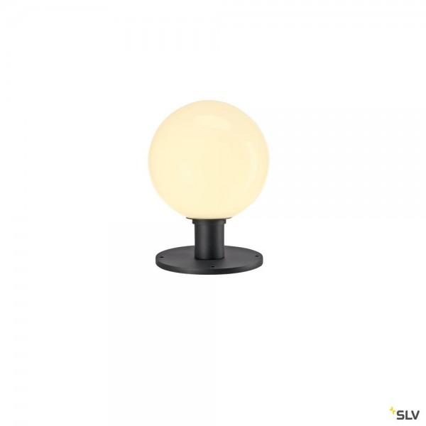 SLV 1001999 Gloo Pure Pole 27, Standleuchte, anthrazit, IP44, E27, max.23W