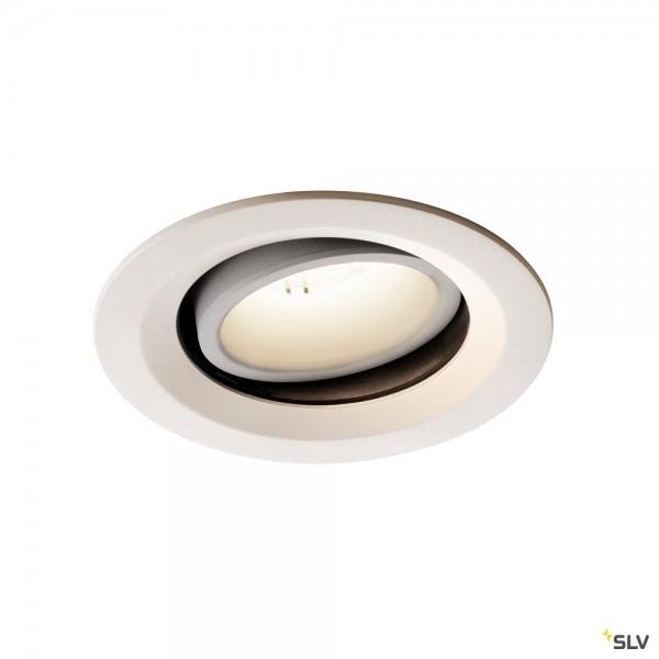 SLV 1003617 Numinos Move M, Deckeneinbauleuchte, weiß, LED, 17,55W, 4000K, 1750lm, 40°