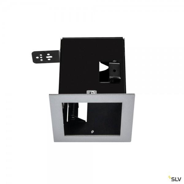 SLV 115304 Einbaurahmen 1 Frame, silbergrau, Aixlight Pro®