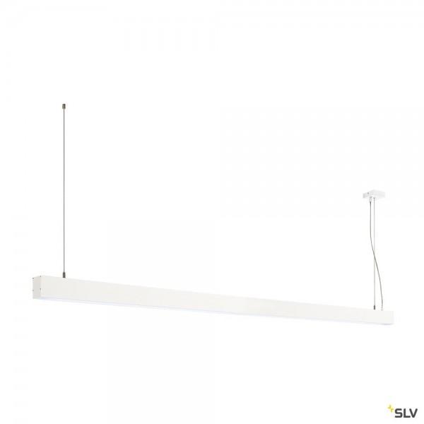 SLV 1001410 Glenos, Pendelleuchte, weiß matt, dimmbar 1-10V, LED, 85W, 4000K, 6600lm