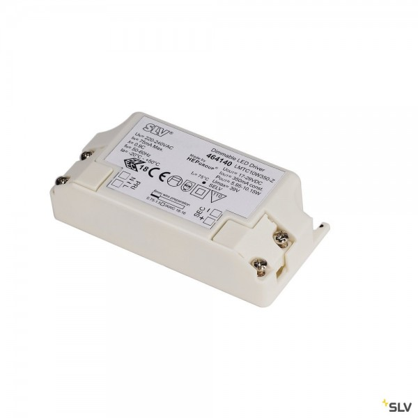 SLV 464140 LED Treiber, dimmbar Triac C+L, 350mA, 5,95W-10,15W