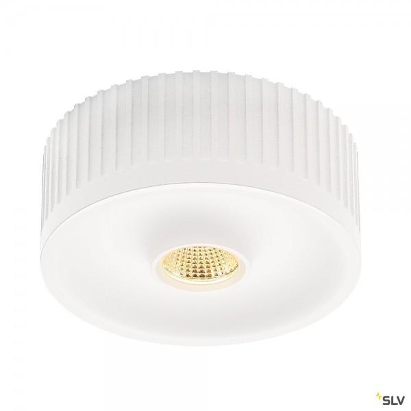 SLV 117381 Occuldas 13, Deckenleuchte, weiß, dimmbar Triac C, LED, 16W, 3000K, 1200lm