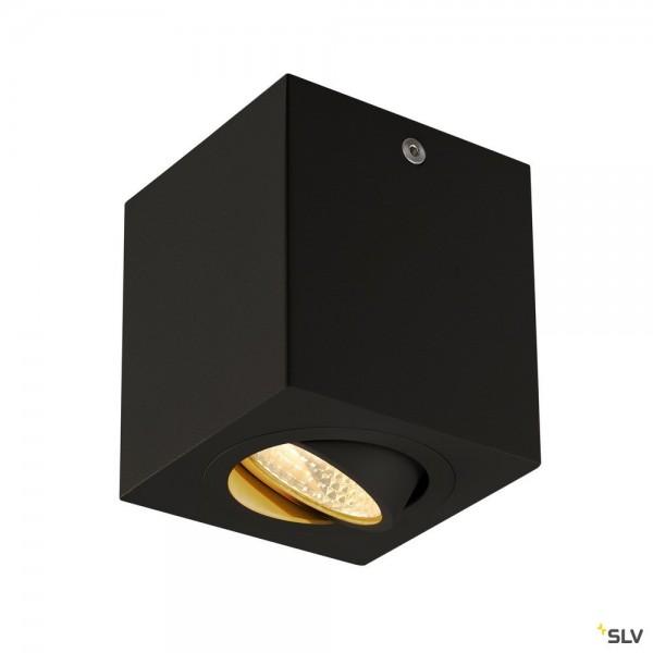 SLV 113940 Triledo Square, Deckenleuchte, schwarz matt, LED, 8,1W, 3000K, 670lm