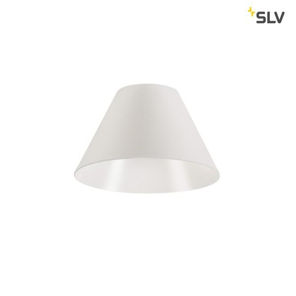 SLV 1001956 Fitu, Leuchtenschirm, weiß, 10cm