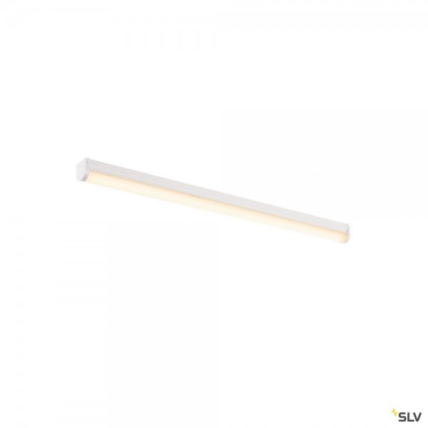 SLV 631347 Bena 120, Wand- und Deckenleuchte, weiß, LED, 28W, 4000K, 3400lm