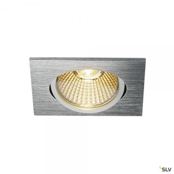 SLV 1001993 New Tria, Deckeneinbauleuchte, Dim to Warm C+L, LED, 7,3W, 1800K-3000K, 440lm