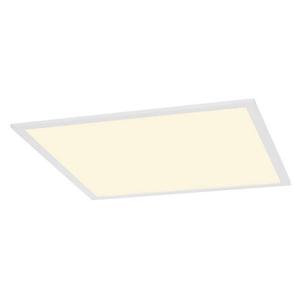 SLV 1000270 Panled Panel, Deckeneinbauleuchte, weiß matt, 59,5x59,5cm, LED, 35W, 4000K, 3650lm