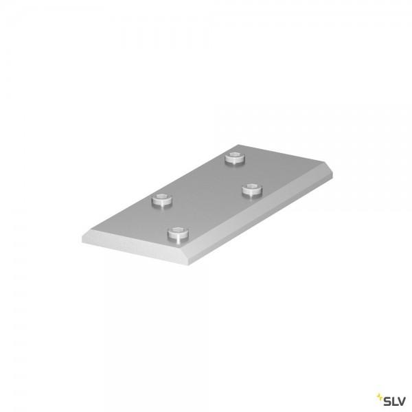 SLV 1001806 Verbinder, silbergrau, H-Profil