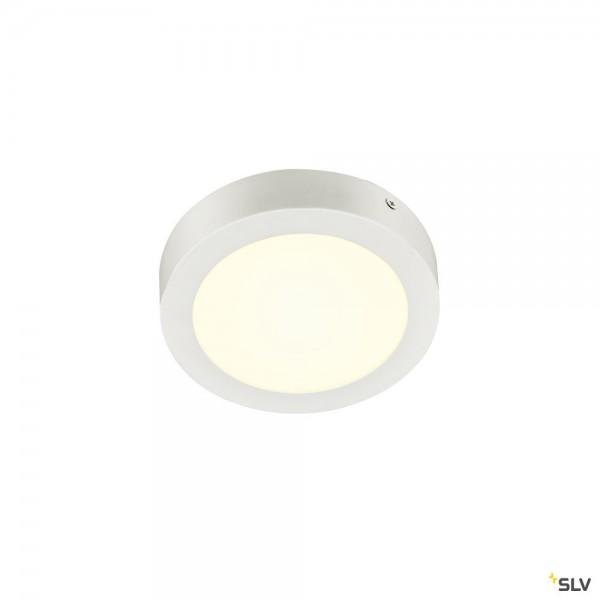 SLV 1004701 Senser 18, Wand- und Deckenleuchte, weiß, dimmbar C, LED, 12W, 4000K, 990lm