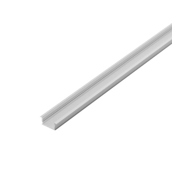 SLV 214394 Glenos 3314, Einbauprofil, flach, B/H/L 3,3x1,4x100cm, für LED Strips max.B.2,1cm
