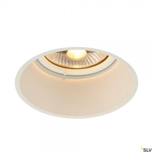 SLV 113171 Horn-T, Deckeneinbauleuchte, weiß matt, QPAR111, GU10, max.75W