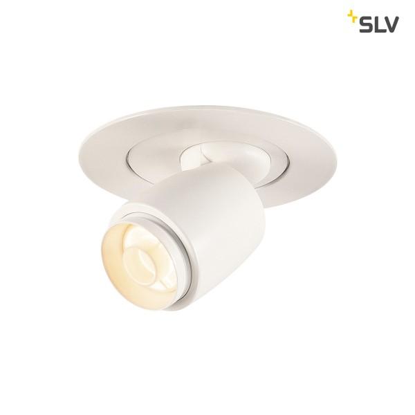 SLV 115901 Ilu, Deckeneinbauleuchte, weiß, LED, 1W, 3000K, 55lm