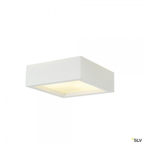 SLV 148002 Plastra 104, Deckenleuchte, weiß, E27, max.2x25W