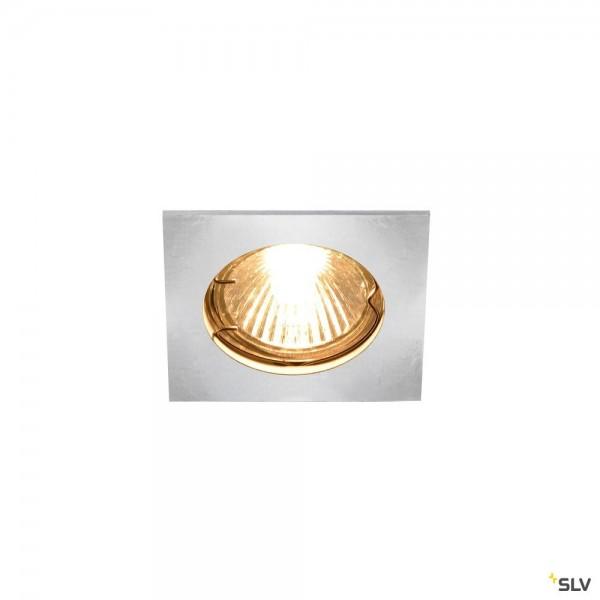 SLV 1002205 Pika, Deckeneinbauleuchte, chrom, QPAR51, GU10, max.50W