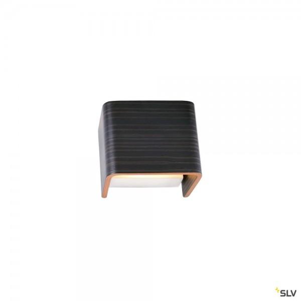 SLV 1000613 + 1000616 Mana 96, Holz, grau/braun, Dim to Warm C, LED, 8W, 2000K-3000K, 320lm