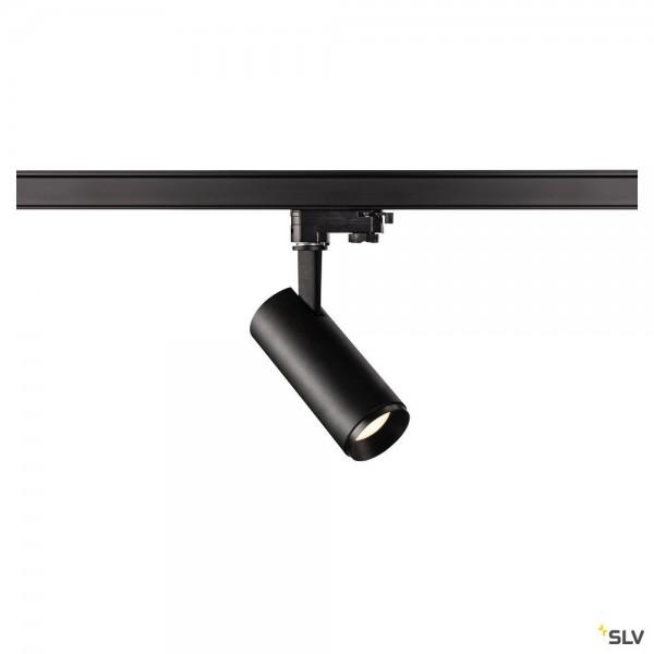 SLV 1004092 Numinos S, 3Phasen, Strahler, schwarz, dimmbar C, LED, 10,42W, 4000K, 1100lm, 60°