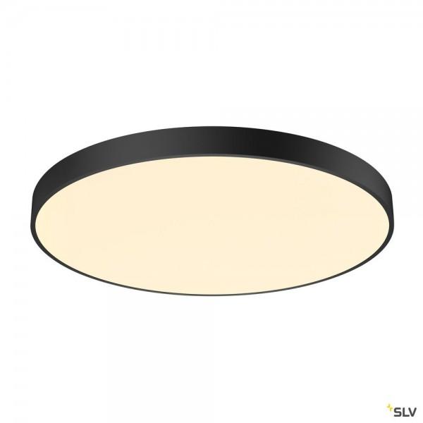 SLV 1001890 Medo 90 CL Ambient, Deckenleuchte, schwarz, dimmbar Dali, LED, 78W, 3000K/4000K, 10255lm