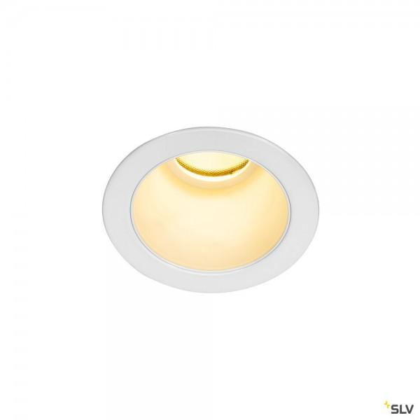 SLV 1002591 Horn Magna, Deckeneinbauleuchte, weiß, LED, 7,7W, 3000K, 470lm