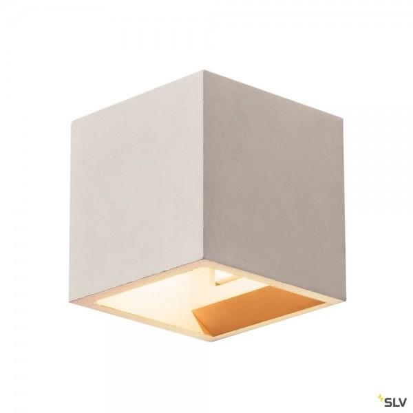 SLV 1000910 Solid Cube, Wandleuchte, Beton, grau, up&down, G9, max.25W