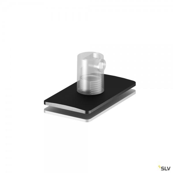 SLV 1001799 Zugentlastung, schwarz, H-Profil