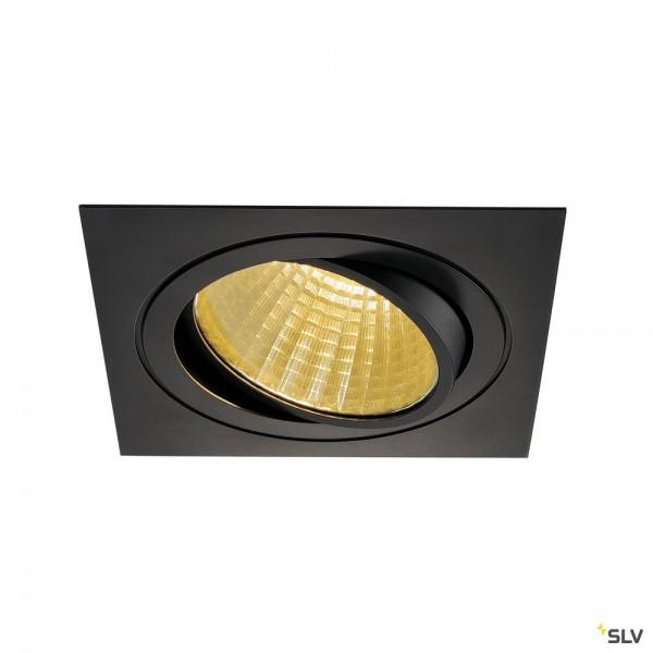 SLV 114280 New Tria 1 Set, Deckeneinbauleuchte, dimmbar 1-10V, LED, 29W, 2700K, 2210lm