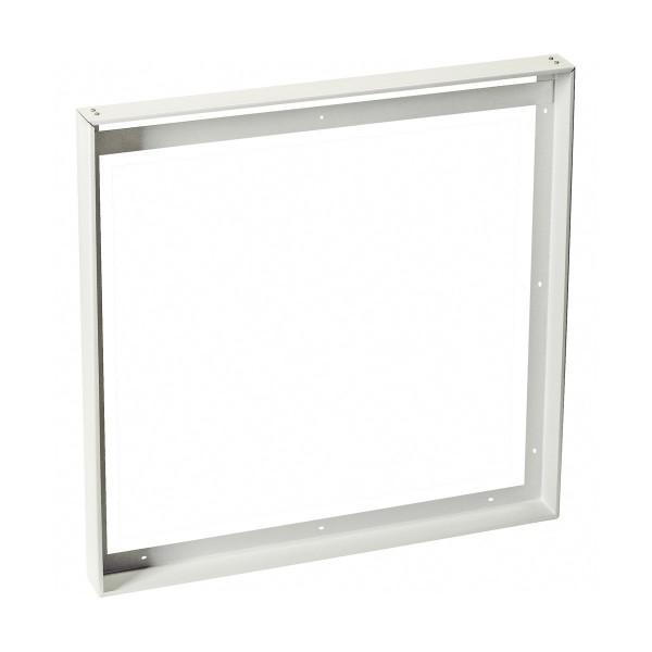 SLV 158772 LED Panel, Aufbaurahmen, 62,5x62,5cm, weiß