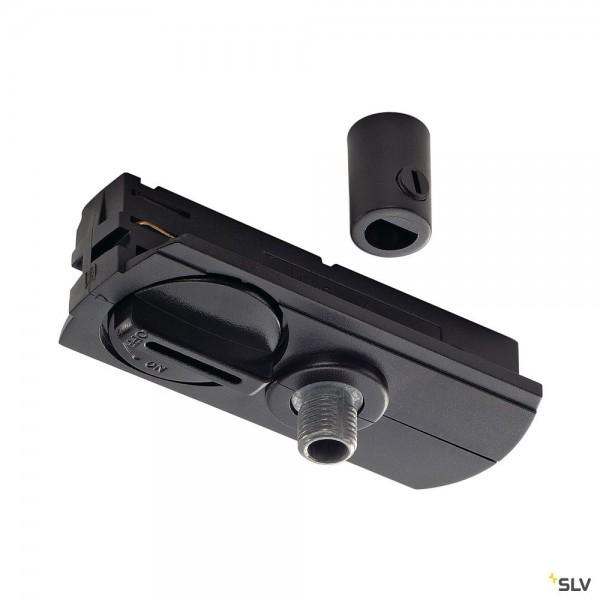 SLV 143120 1 Phasen, Pendeladapter, schwarz