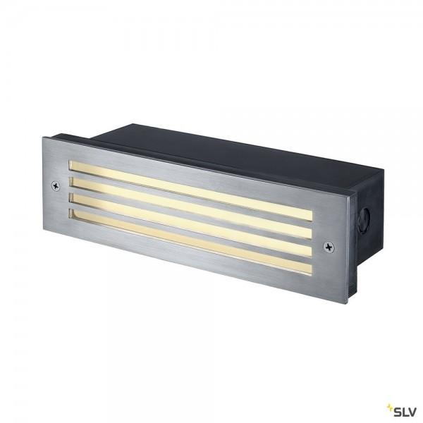 SLV 229110 Brick Mesh, Wandeinbauleuchte, Edelstahl, IP56, LED, 4W, 3000K, 52lm