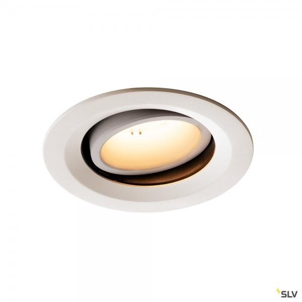 SLV 1003590 Numinos Move M, Deckeneinbauleuchte, weiß, LED, 17,55W, 3000K, 1600lm, 20°