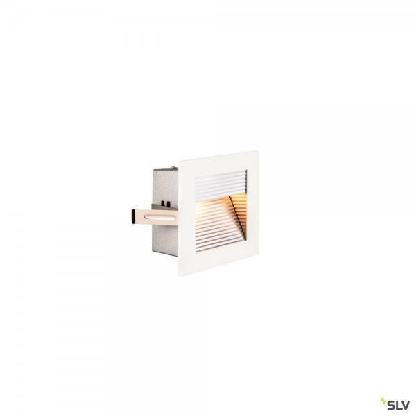 SLV 1000574 Frame Curve, Wandeinbauleuchte, weiß, LED, 3,1W, 2700K, 100lm