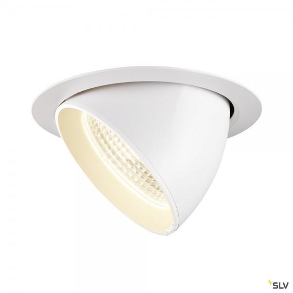 SLV 1002887 Gimble In 175, Deckeneinbauleuchte, weiß, LED, 38W, 4000K, 3550lm