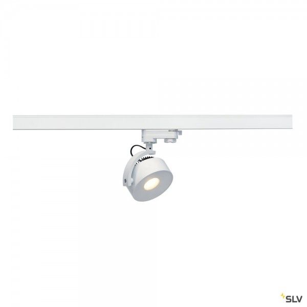 SLV 152601 Kalu Track, 3Phasen, Strahler, weiß, dimmbar Triac C, LED, 13W, 3000K, 860lm