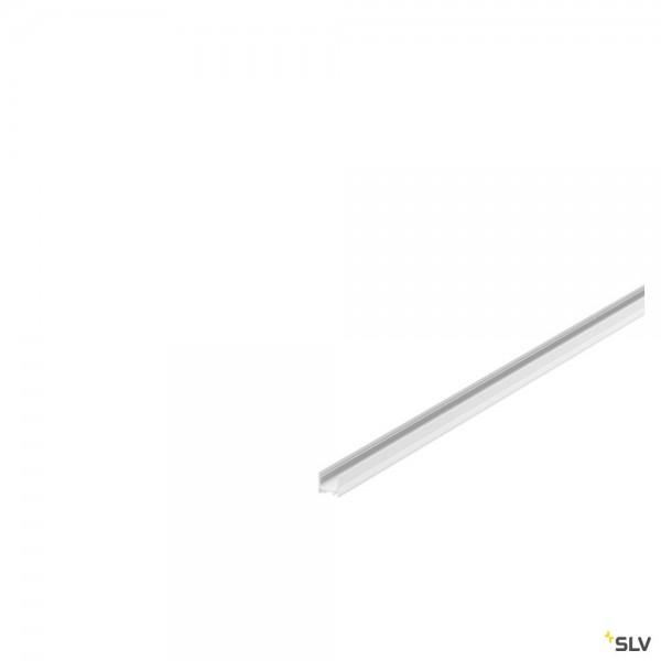 SLV 1000464 Grazia 1816, Profil, weiß, B/H/L 1,75x1,62x200cm, LED Strip max.B.1cm