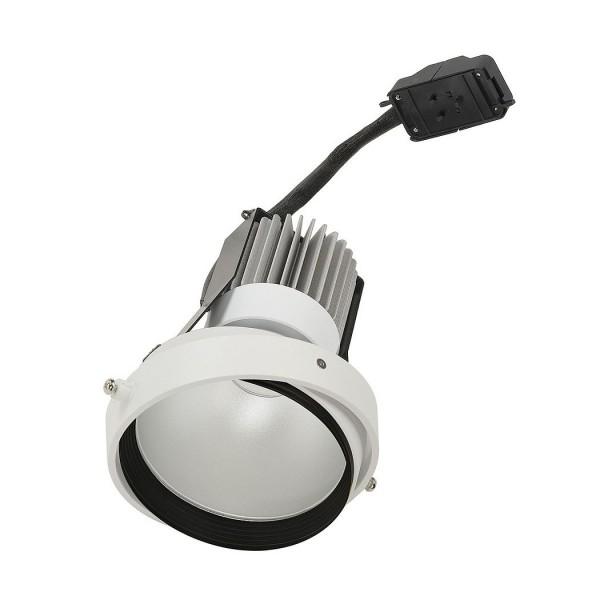 SLV 115451 LED Disk Modul, Aixlight® Pro, weiß matt, dimmbar Triac L, 12W, 2700K, 800lm, 50°
