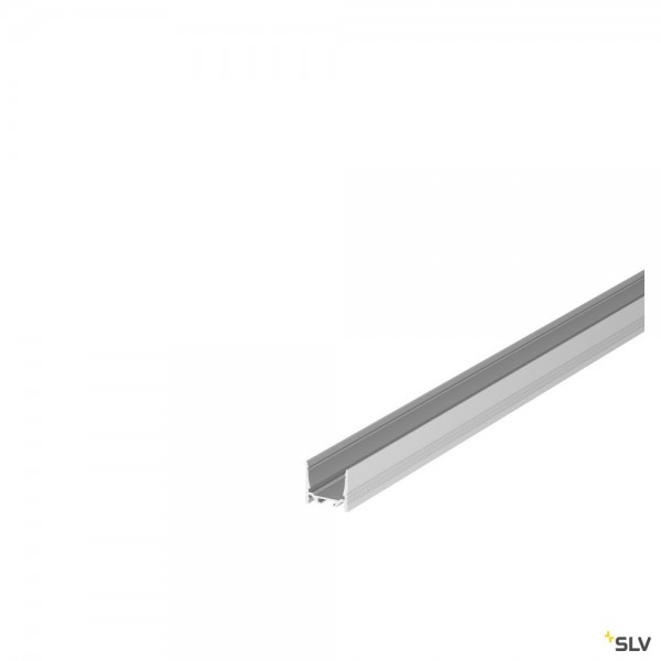 SLV 1000511 Grazia 3532, Aufbauprofil, alu eloxiert, B/H/L 3,5x3,2x200cm, LED Strip max.B.2cm