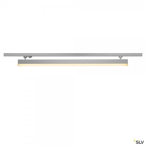 SLV 1001292 Sight Track, 3Phasen, Leuchte, silbergrau, LED, 38W, 3000K, 3100lm