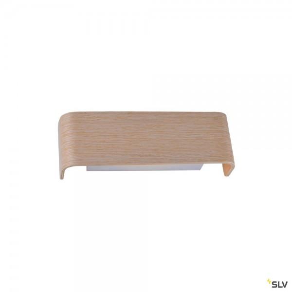 SLV 1000614 + 1000622 Mana 200, Wandleuchte, Holz, up&down, Dim to Warm C, LED, 15W, 2000-3000K, 700