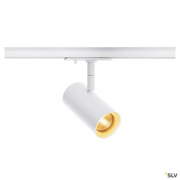 SLV 1001863 Noblo, 1 Phasen, Strahler, weiß, LED, 7,5W, 2700K, 620lm