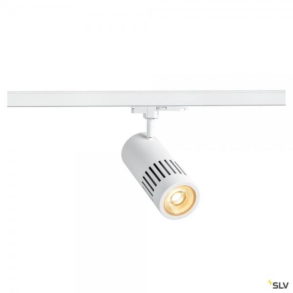 SLV 1003025 Structec, 3Phasen, Strahler, weiß, dimmbar Dali, LED, 29W, 3000K, 2500lm