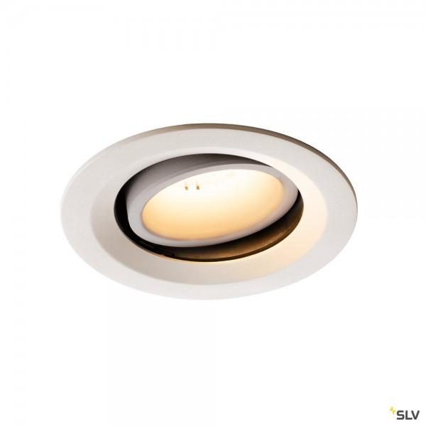 SLV 1003593 Numinos Move M, Deckeneinbauleuchte, weiß, LED, 17,55W, 3000K, 1600lm, 40°