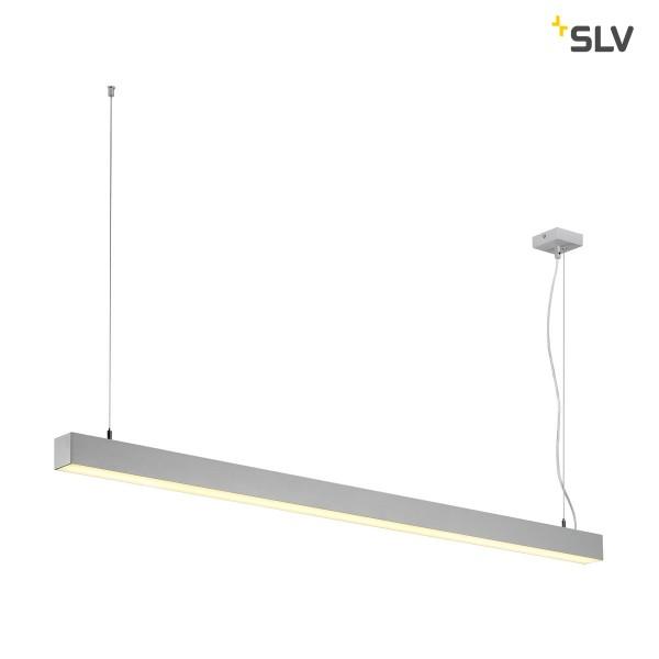 SLV 1001312 Q-Line, Pendelleuchte, weiß, dimmbar Dali+ Switch, LED, 47W, 3000K, 3700lm