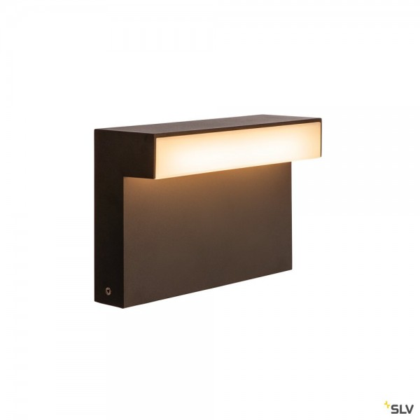 SLV 1003536 L-Line Out 30, Standleuchte, anthrazit, IP65, LED, 11,5W, 3000/4000K, 810lm