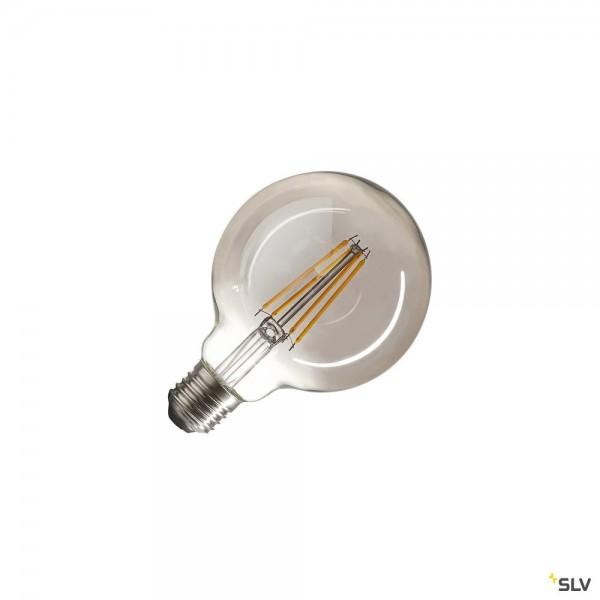 SLV 1003091 Leuchtmittel, Rauchglas, dimmbar Triac C, G95, E27, LED, 4W, 2700K, 360lm